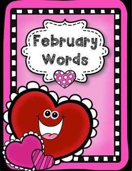 February Word Bank --VISUAL STYLE:)