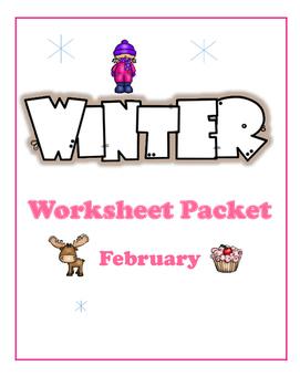February Worksheet Packet