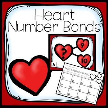 February Write the Room- Number Bonds