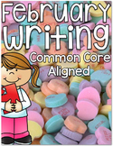 February Writing {Common Core Aligned}