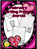 February Writing Prompts Journal