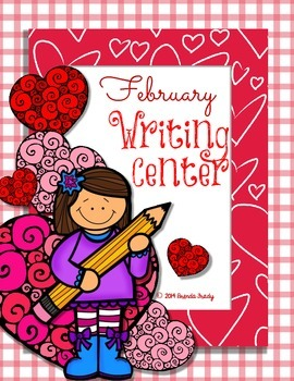 February Writing Workstation/Center Pack