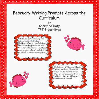 February writing prompts FREE