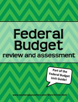 Federal Budget review and assessment