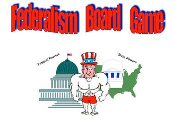 Federalism Board Game