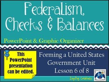 Federalism - Checks and Balances