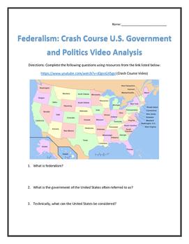 Federalism: Crash Course U.S. Government and Politics Vide
