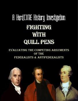 Federalist Anti-Federalist Debate: A Common Core History Lesson