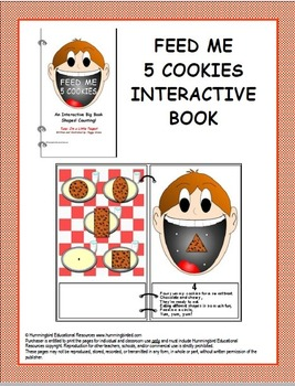 Feed Me 5 Cookies - An Interactive Big Book