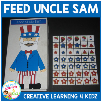 July 4th Feed Uncle Sam Cut-Out