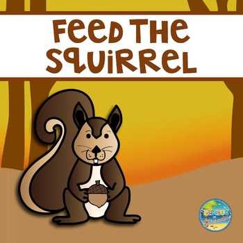 Feed the Squirrel:  Counting Acorns