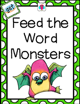 Feed the Word Monsters