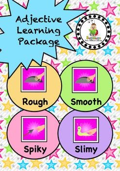 Feel Adjective / Concept Learning Package inc. Rough, Smoo