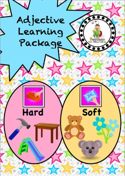 Feel Adjective / Concept Learning Package inc. Soft and Hard