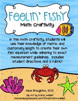 Feelin' Fishy: Measuring Length Craftivity