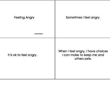 Feeling Angry Social Story (Help for not just Autism)