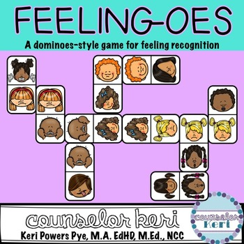 Feeling-oes: A Domino-Style Game for Feeling Recognition a