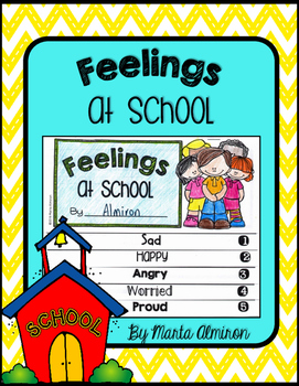 Feelings At School Flipbook and Activities