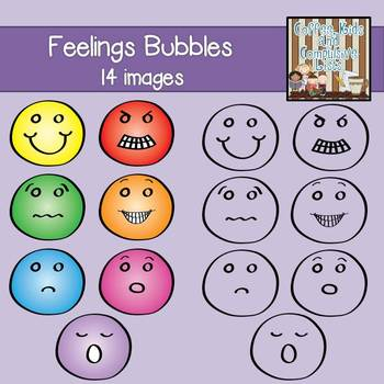 Feelings Bubbles Graphics {Personal/Commercial Use}