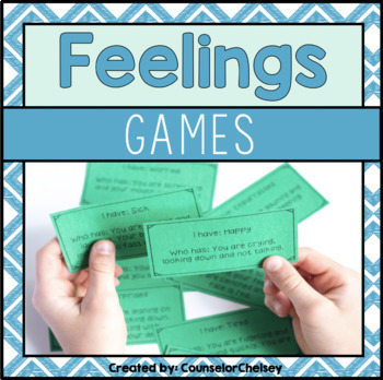Feelings/Emotions Games by CounselorChelsey
