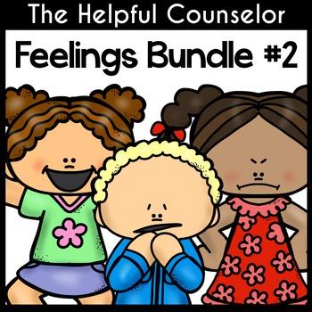 Feelings Games & Activities Bundle #2