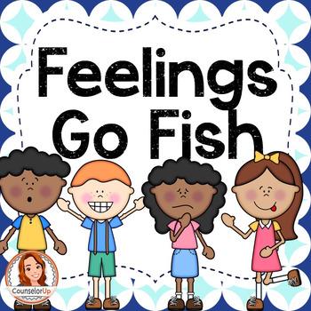 Feelings Identification Game: Go Fish