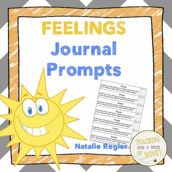 Feelings Journal: 25 Journal Writing Prompts