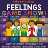 Feelings Lesson: School Counseling Game About Emotions & C
