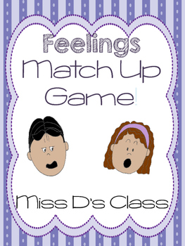 Feelings Match Up Game