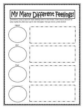Feelings- My Many Different Feelings