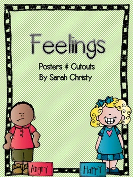 Feelings-Posters, Picture Cards, and more