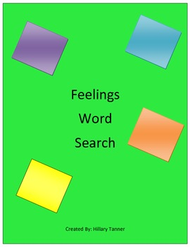 Feelings Word Seard