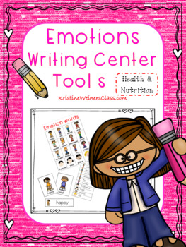 Emotions Writing Center Tools: Health and Nutrition Words