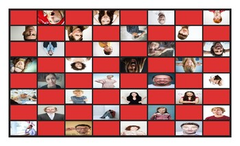Feelings and Emotions Checker Board Game