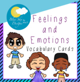 Feelings and Emotions Vocabulary Matching Cards - Set of 45