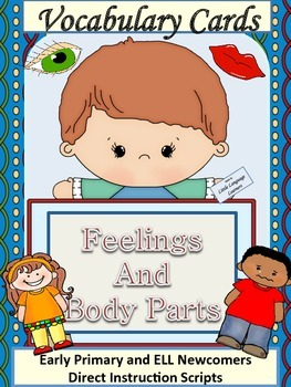 ESL Activity: Vocabulary/Conversation Cards- Feelings and