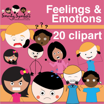 Feelings/Emotions Set: 141 PNG Images