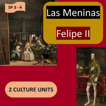 Las Meninas / Felipe II: 2 thematic units - Favorites - SP