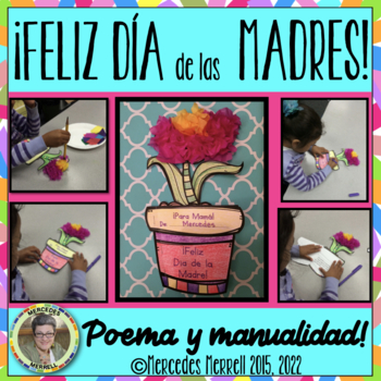 ¡Feliz Día de la Madre!  Poema y Manualidad