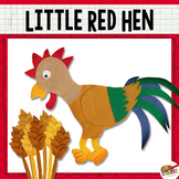 The Little Red Hen {Felt Story Set}