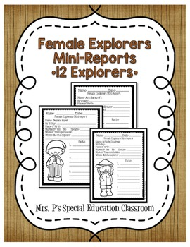 Female Explorers Mini Reports