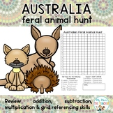 Australian Feral Animal Hunt - Maths Activity