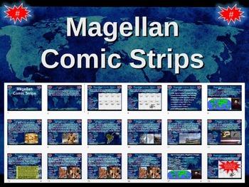 Ferdinand Magellan's Circumnavigation Comic Strip Activity