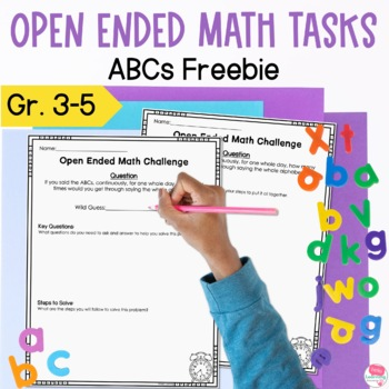 Creative and Challenging Problem Solving- Fermi Math- ABC's