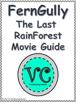 FernGully Movie Worksheet