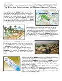Fertile Crescent - Environment and Mesopotamia