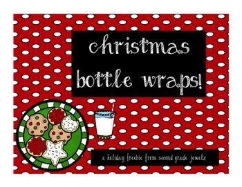 Festive Water Bottle Wraps