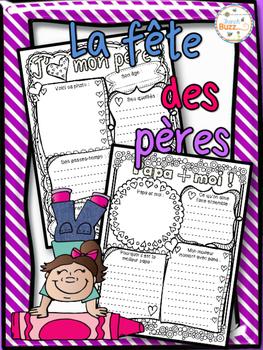 Fête des pères - 2 fiches d'activités - French Father's Day