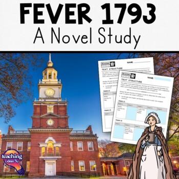 Fever 1793 Complete Novel Study Teaching Guide Vocab, Text