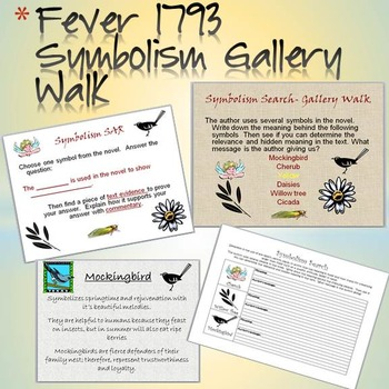 Fever 1793 Symbolism Activity